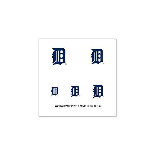 MLB Detroit Tigers 77606010 Fingernail Tattoos