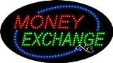 Money Exchange - Animated - Ultra Bright LED Sign - 15'' x 27''