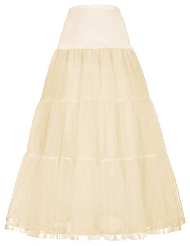 (GRACE KARIN Netting Halloween Party Petticoat for Teen Girls)