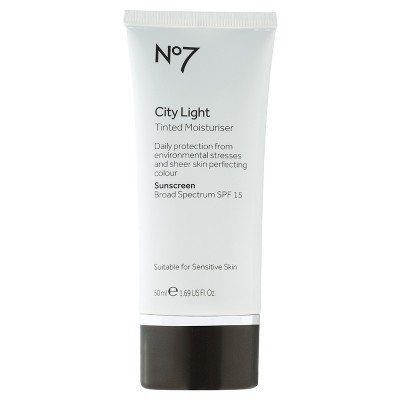 No7 City Light Tinted Moisturiser SPF 15 Fair - 1.69oz Fair