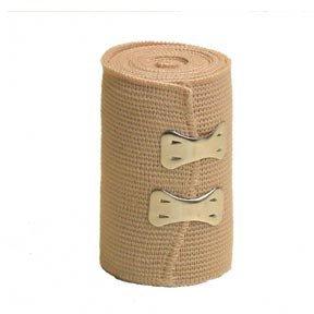 """AT Surgical BandAce Elastic Bandage Wraps, Beige, 2"""" Wide..."""