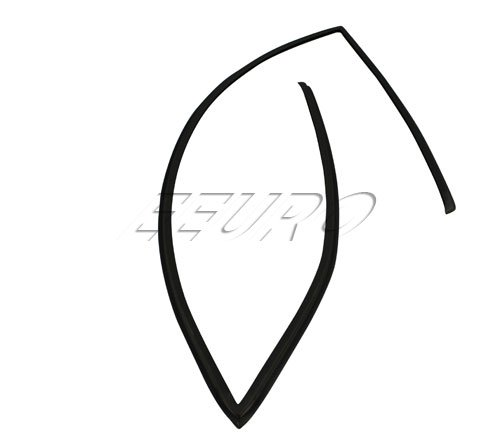 BMW e39 rear Windshield Moulding Upper Trim Seal OEM rubber sealing strip back