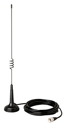 Cobra HG A1000 18.5 inch Magnetic Mount CB Antenna – Heavy Duty Magnet, For use in Cars, SUVS Recreational Vehicles 100 Watt Power Handling Capability