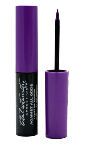 Against All Odds Liquid Ink Eyeliner, Around The Clock (Purple), 0.095 Fluid
