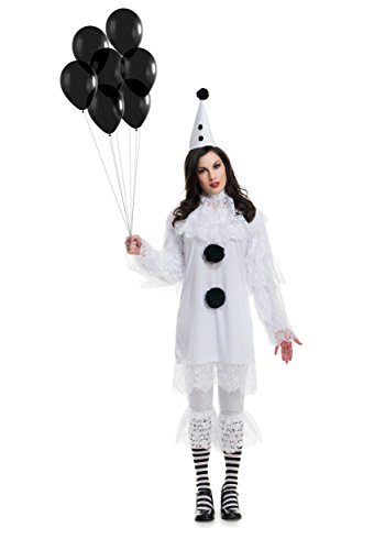 Womens Heartbroken Clown Costume - XL