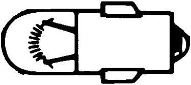 J caja Cant.: 10 24V//3W HELLA 8GP 002 066-241 L/ámpara Heavy Duty