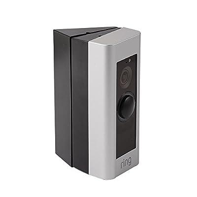 3x Adjustable(20 to 40 Degree) Ring Doorbell Adapter Mounting Wedge Kit Pro Video Doorbell Corner Kit Angle Adjustment Plate Bracket