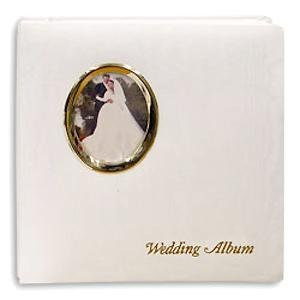 (Golden Wedding Post-Bound pocket album for 5x7 8x10 prints w/scrapbook pages by Pioneer - 5x7)