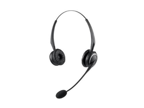 Gn Netcom Headphones - GN Netcom 91291-04 Headset ONLY-GN9125 NC Duo Headset ONLY-Duo Flex Boom NC Microphone