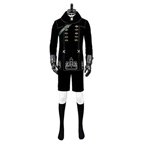 (GOTEDDY Halloween Cosplay Costume Black Party Dress Up Outfit)