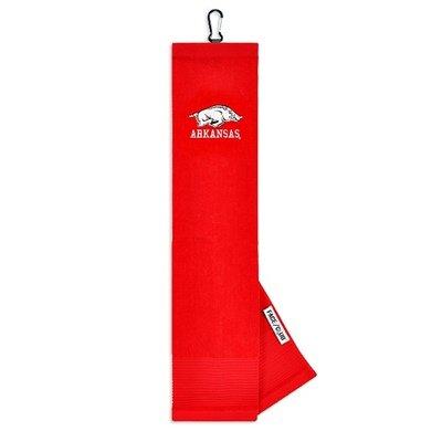 Arkansas Razorbacks Embroidered Tri-Fold Towel