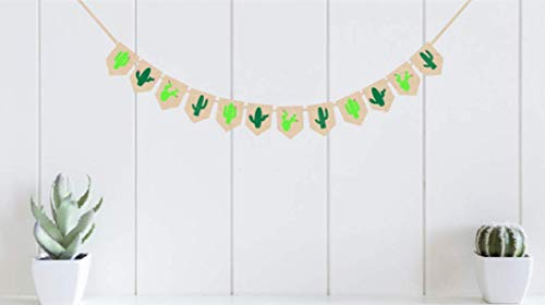 Burlap Fiesta Party|Cactus Decor| Taco Party | Cactus Party Supplies| Birthday Decorations| Cactus Wall décor | Cactus Banner | Nursery décor| Mexican Theme Banner | Fiesta Cactus Sombrero Salsa by OrangeDolly
