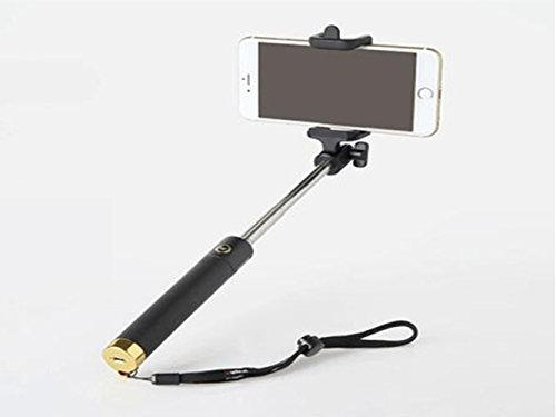 life origion foldable selfie stick with build in bluetooth remote shutter extendable self. Black Bedroom Furniture Sets. Home Design Ideas
