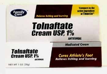 [3 PACK] Family Care Tolnaftate Antifungal Cream 1% Compare to Tinactin- 1 fl.oz (Athletes Foot Cream)