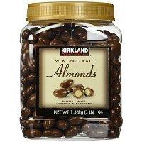 Kirkland Signature Chocolate con leche Tostado Almendra 3Libras (48oz) Jar tienen un problema Contacto 24Hour Thank You...