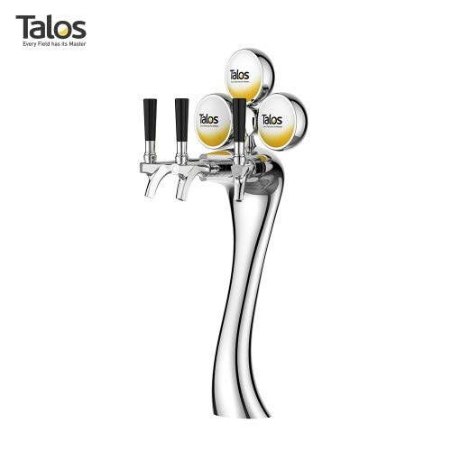 TRIPLE TAP ELEGANCE TOWER WITH LED LIGHTS