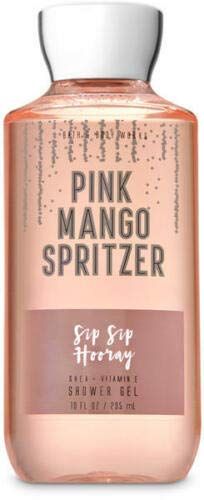 Bath & Body Works Pink Mango Spritzer Shower Gel 10 oz Shea & Vitamin E