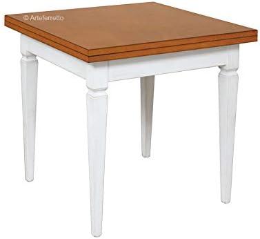 Tavolo Quadrato A Libro.Arteferretto Tavolo Quadrato Apertura A Libro Tavolo Da Pranzo