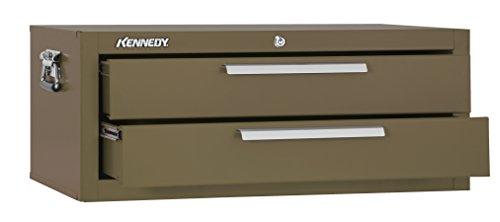 (Kennedy Manufacturing 2902B 2-Drawer Mechanics' Base Cabinet, 29