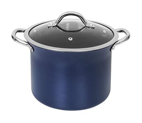 CONCORD Sapphire Nonstick 7 Quart Stock Pot Cookware Set (Induction Compatible) (Stock Pot)
