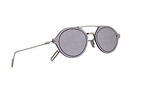 Christian Dior Homme DiorChroma3 Sunglasses Palladium w/Grey Silver Mirror Lens 64mm 0100T Chroma 3 Chroma3