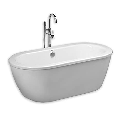 fiberglass free standing tub. American Standard 2764014M202 011 Cadet Freestanding Tub  Arctic White