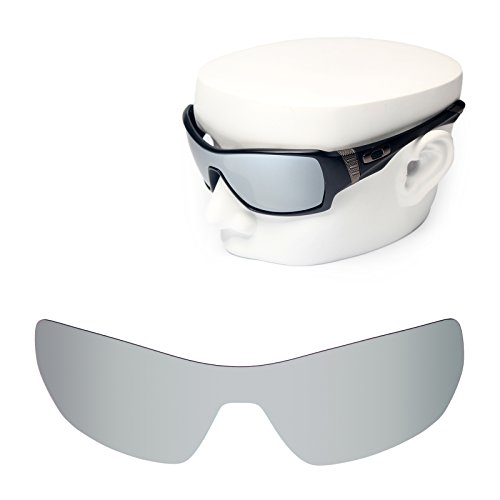 OOWLIT Replacement Sunglass Lenses for Oakley Offshoot Silver - Offshoot Polarized