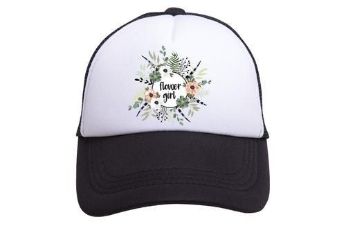 Amazon.com  Tiny Trucker Co. Flower Girl Trucker Hat (Youth)  Clothing 7bae9953206a