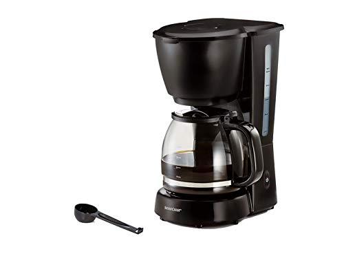 Cafetera de goteo con filtro y jarra de cristal, color negro ...