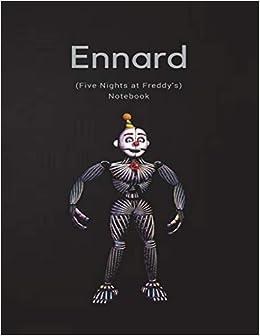 Amazon com: Ennard Notebook (Five Nights at Freddy's
