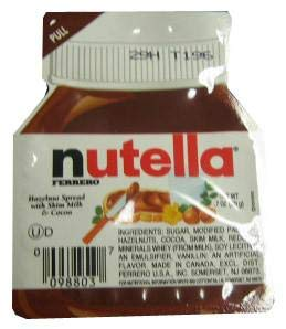 Nutella - Hazelnut Spread, 0.52 oz