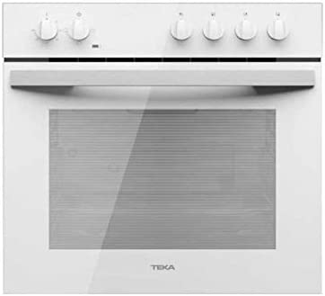 Teka HBE 490 ME WH - Horno (Medio, Horno eléctrico, 72 L, 2593 W, 72 L, 1400 W)