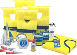 Economy Saftet Kit for Boats up to 19 Feet