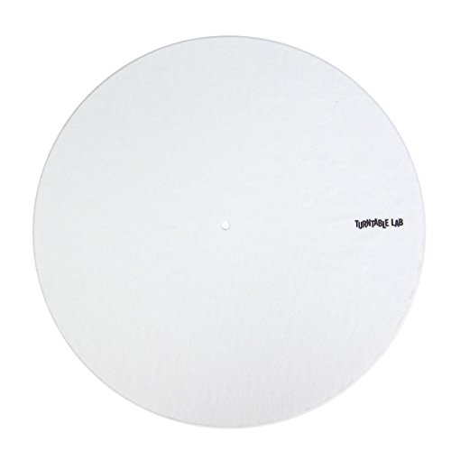 Design Slipmats (Audiosetup: Supersoft Slipmats - White (Single))
