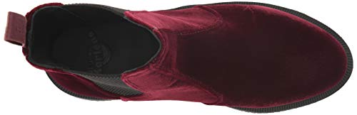 Martens Polished Flora Donna Cherry Dr Red Smooth Black x7Ogqw
