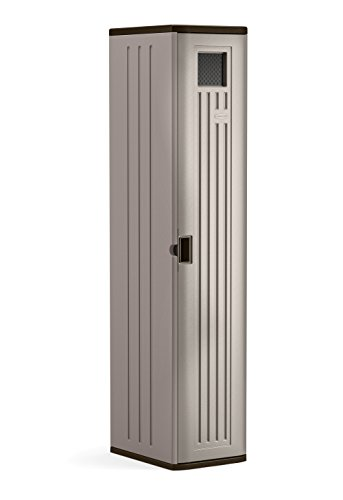 Suncast Storage Cabinet - Resin Construction for Garage Organization - 72