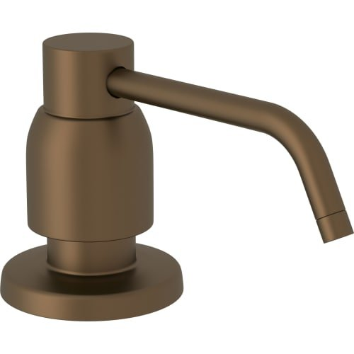 Rohl U.6495 Perrin and Rowe Deck Mounted Soap Dispenser, English Bronze (Rohl English Soap Dispenser)