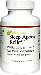 Natures Rite Sleep Apnea Relief - 30 Capsules Natural herbs that help with providing relief for sleep apnea sleep. Supports respiratory wellness. Maintains pleural activity, promotes respiratory health. Helps the musculoskeletal system to promote rel...