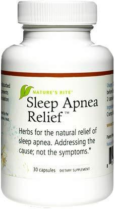 Natures Rite Sleep Apnea Relief - 30 Capsules