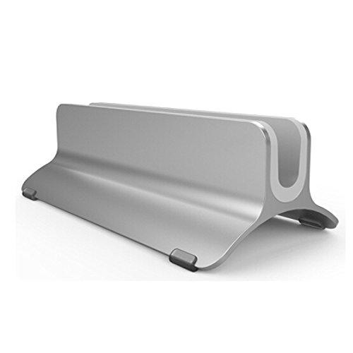 Vertical Laptop Stand, Beeiee Aluminum Desktop Vertical Laptop Stand Holder for MacBook Air, MacBook Pro,Notebooks