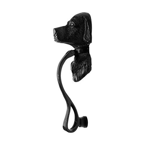 Renovator's Supply Door Knocker Animal Dog Unique Cast Iron Design Hardware Included