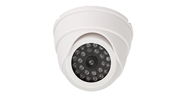 Amazon.com: Ir Led Detector - Dummy Security Cameras - 25 LED IR Color Night Video Dome Fake CCTV Camera Surveillan - Black (Imitation Surveillance Camera): ...