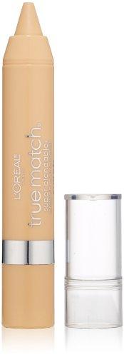 L'Oréal Paris True Match Super Blendable Crayon Concealer, Fair/Light Warm, 0.1 oz.