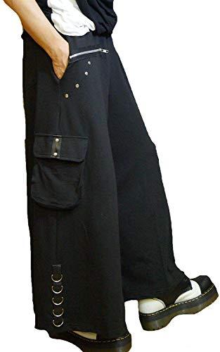 歩く出撃者眼Hippies (ヒッピーズ) サルエル ワイド パンツ メンズ レディース おしゃれ モード系 パンク V系 3691