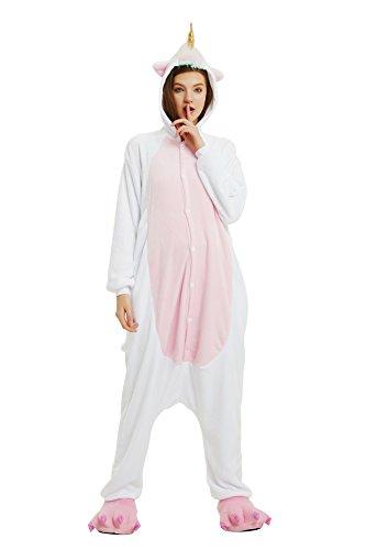 Halloween Costumi Attrezzatura Horn notte Pigiami e travestimenti Golden Woneart Cosplay Pigiama Costume Adulti da Monopezzi Anime camicie Animale Unicorno pZxwEC0q