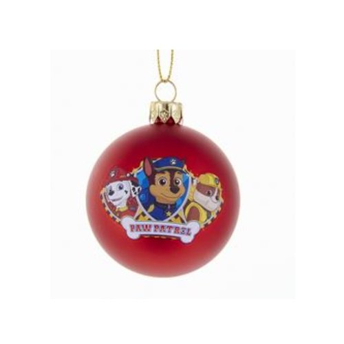 Kurt Adler Paw Patrol Ball Ornament