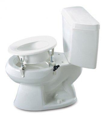 Marvelous Lumex Versa Height Raised Toilet Seat 2 Rear Locking Brackets Qty 1 Onthecornerstone Fun Painted Chair Ideas Images Onthecornerstoneorg
