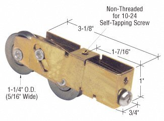 - CRL Sliding Glass Door Roller with 1-1/4