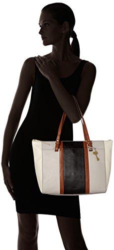 10 Blanc Rachel Multi H Shopper nbsp; x cm Cabas Fossil 020000000000003x35 56 16x33 femme B T Damentasche Neutral wBzxqA