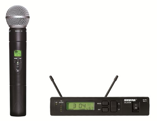 - Shure ULXS24/58 Handheld Wireless System, J1